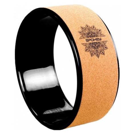 Spokey CZAKRA brown - Yoga wheel