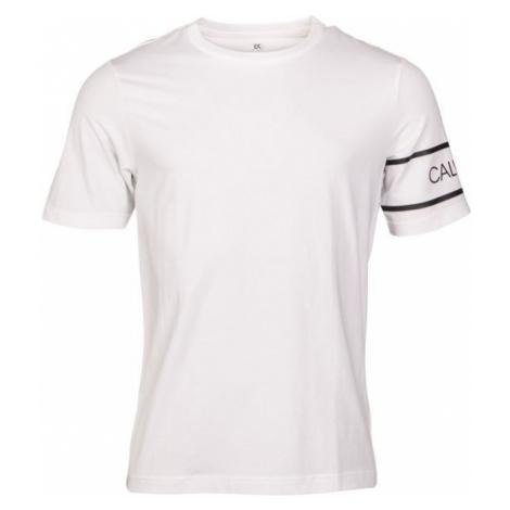 Calvin Klein SHORT SLEEVE TEE white - Men's T-Shirt