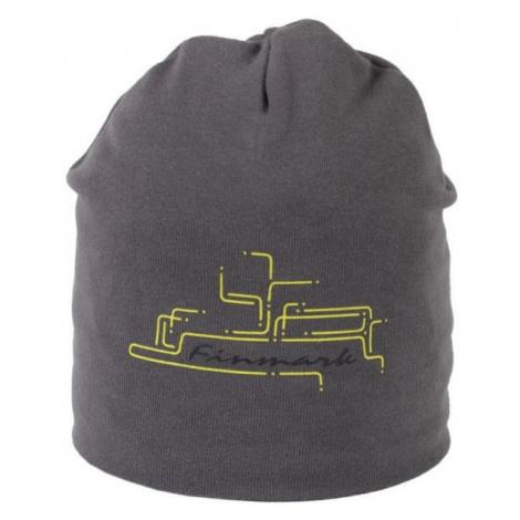 Finmark CHILDREN'S HAT grey - Winter hat