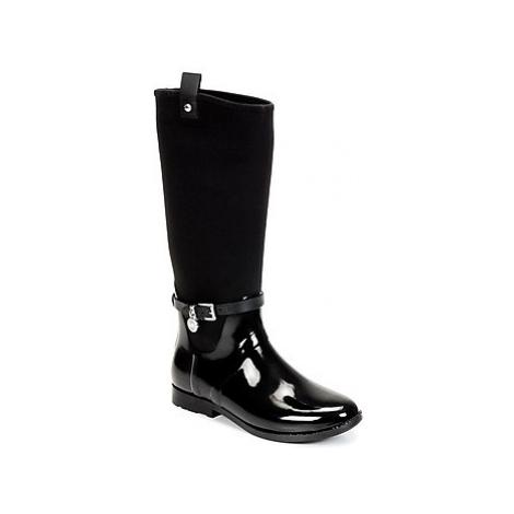 MICHAEL Michael Kors CHARM STRECH RAINBOOT women's Wellington Boots in Black