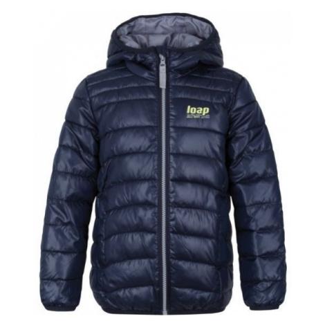 Loap IRENUS blue - Kids' winter jacket