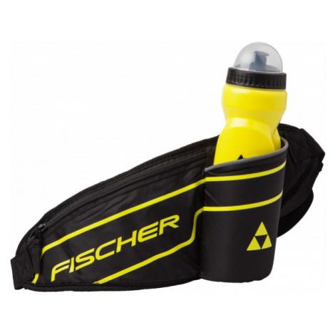 Fischer WAIST BAG WITH BOTTLE black - Waist bag with bottle