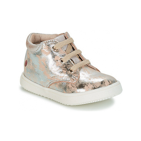 GBB SACHA girls's Children's Shoes (High-top Trainers) in Beige