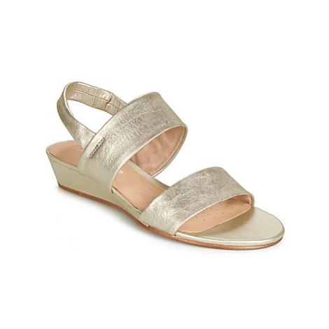 Clarks SENSE LILY women's Sandals in Silver