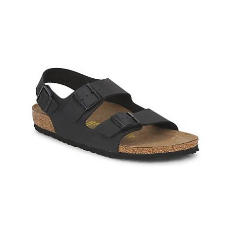 Birkenstock MILANO men's Sandals in Black