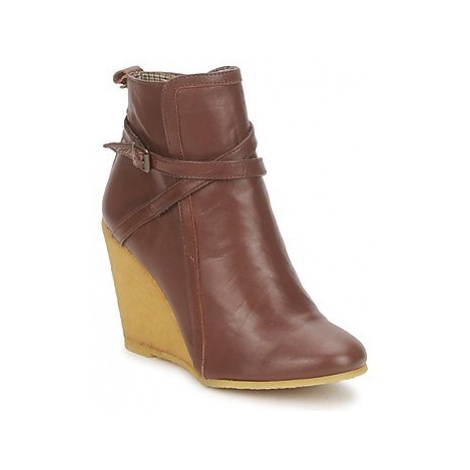 Paul Joe Sister OCASEY GLOVE women's Low Ankle Boots in Brown Paul & Joe