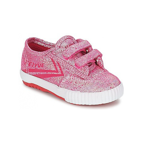 Feiyue FE LO GLITTER EASY girls's Children's Shoes (Trainers) in Pink
