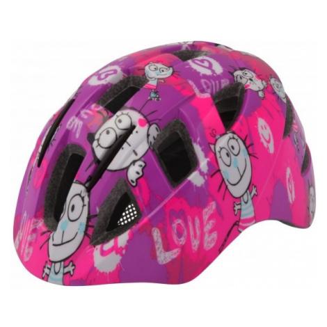 Etape KITTY pink - Kids' cycling helmet