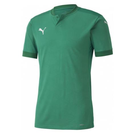 Puma TEAM FINAL 21 JERSEY TEAM green - Men's T-Shirt