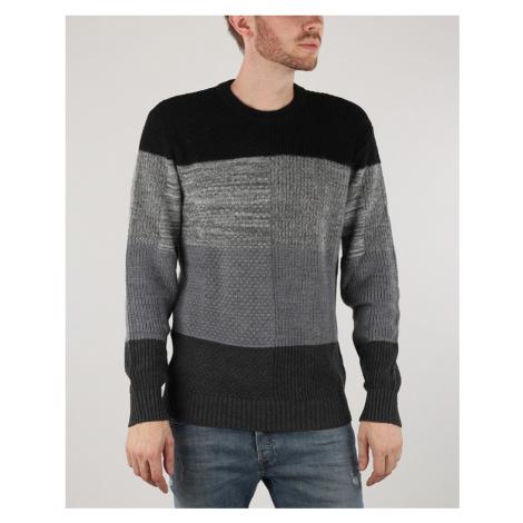 Diesel K-Evenflow Sweater Black Grey