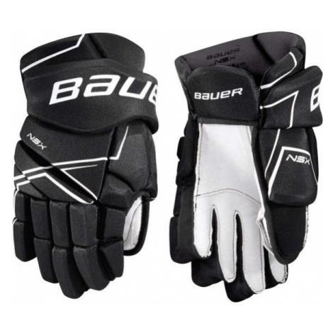 Bauer NSX GLOVES JR black - Children's hockey gloves