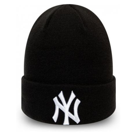 New Era MLB LEAGUE ESSENTIAL CUFF KNIT NEW YORK YANKEES black - Unisex winter beanie
