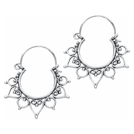 EtNox - Boho Spikes - Earring set - silver-coloured