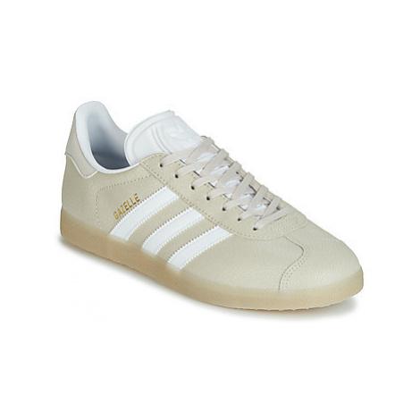 Adidas GAZELLE W women's Shoes (Trainers) in Beige