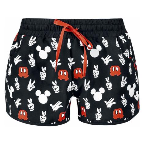 Mickey Mouse Hand Swim Shorts black