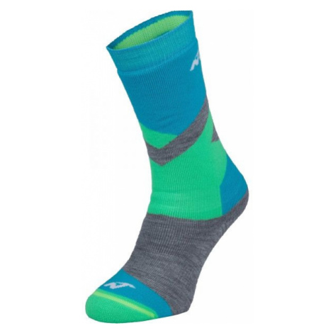 Nordica FREESKI BASIC BOY green - Boys' ski socks