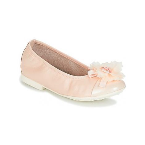 Geox J PLIE' B girls's Children's Shoes (Pumps / Ballerinas) in Pink
