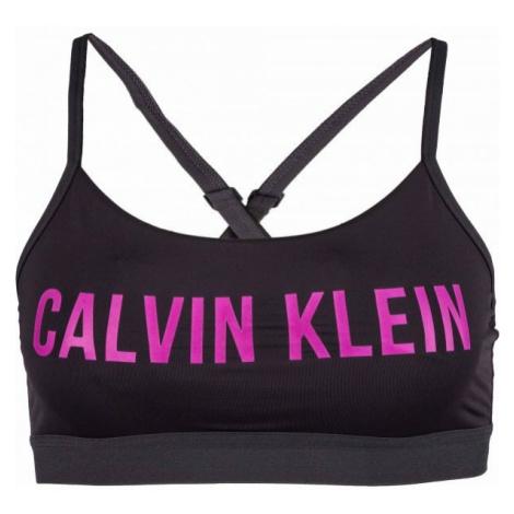 Calvin Klein LOW SUPPORT BRA black - Women's sports bra