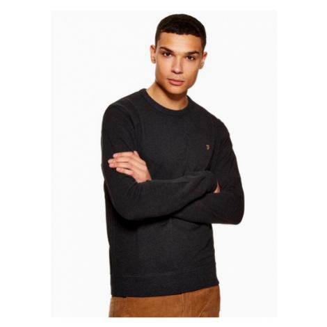 Mens Farah Black 'Tim' Sweatshirt*, BLACK