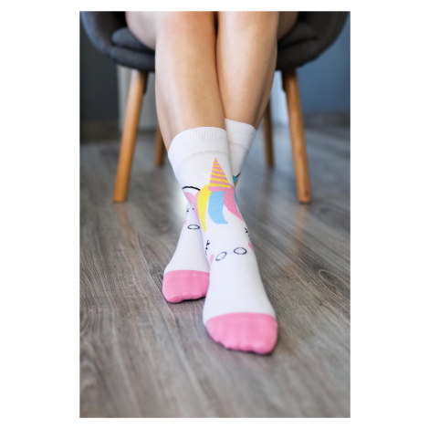 Barefoot Socks - Crew - Unicorn 43-46