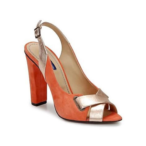 Atelier Voisin LABEL women's Sandals in Orange