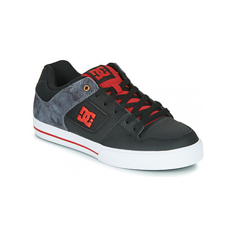 DC Shoes PURE SE men's Skate Shoes (Trainers) in Black