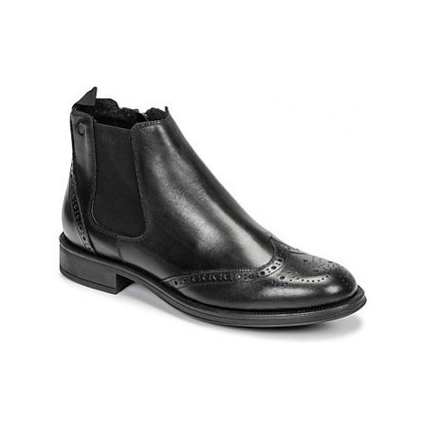 Carlington LEVOTO men's Mid Boots in Black