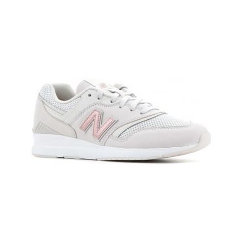 New Balance WL697SHA women's Shoes (Trainers) in Brown