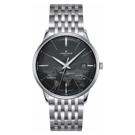 Mens Junghans Meister Mega Radio Controlled Watch 058/4803.44