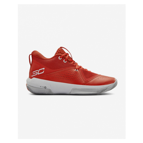 Under Armour SC 3ZERO IV Basketball Sneakers Red