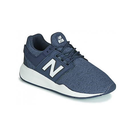 New Balance GS247 girls's Children's Shoes (Trainers) in Blue