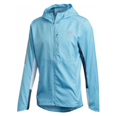 adidas OWN THE RUN JKT blue - Men's running jacket