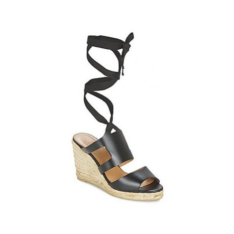 Castaner BUDELE women's Sandals in Black Castañer