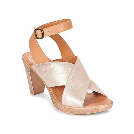 Karston RUBAN women's Sandals in Gold