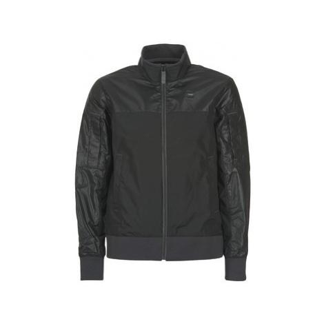 Black men's spring/autumn jackets