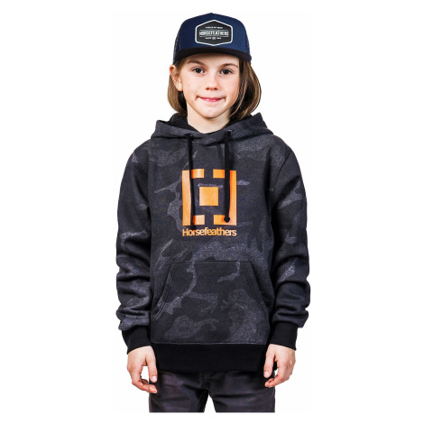 sweatshirt Horsefeathers Leader - Metro - unisex junior