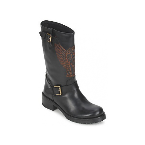Pastelle ANGEL women's Mid Boots in Black Pastelle by Patricia Elbaz