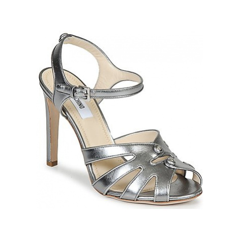 Moschino MA1604 women's Sandals in Silver