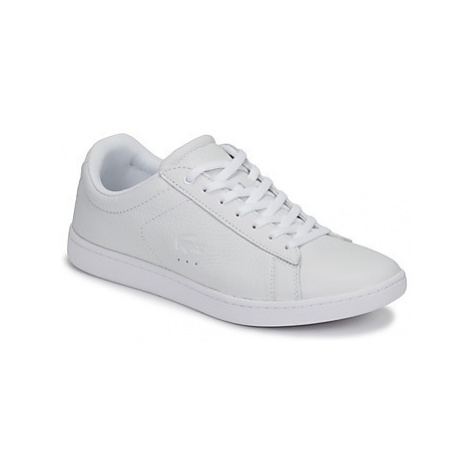 Lacoste CARNABY EVO 319 1 SFA women's Shoes (Trainers) in White