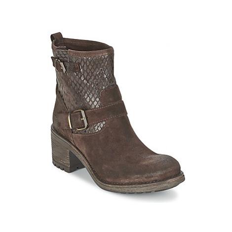 Lola Espeleta KENT women's Low Ankle Boots in Brown