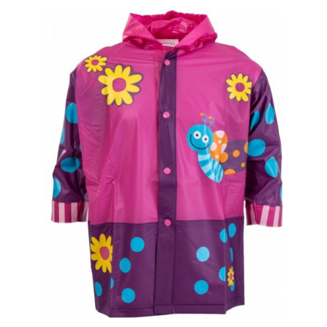 Pidilidi BUTTERFLY pink - Kids' raincoat
