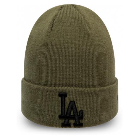 New Era MLB LEAGUE ESSENTIAL CUFF KNIT LOS ANGELES DODGERS dark green - Unisex winter beanie