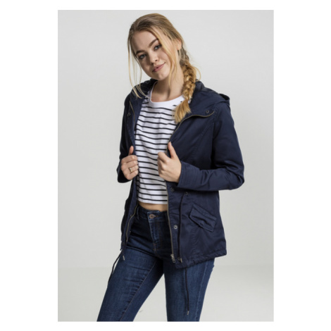 Urban Classics Ladies Basic Cotton Parka navy