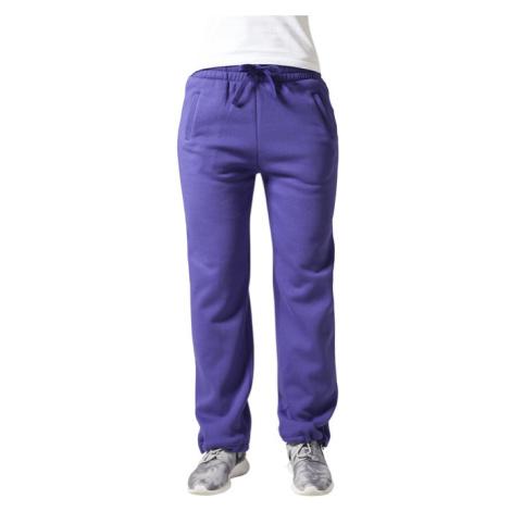 Urban Classics Loose-Fit Sweatpants purple