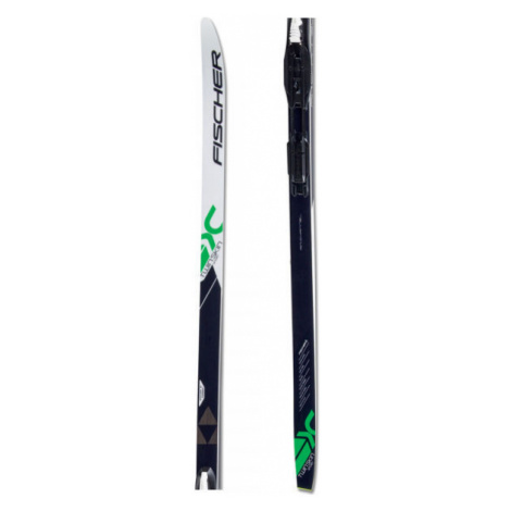 Fischer TWIN SKIN SPORT EF + TOUR STEP-IN IFP - Classic style nordic skis with uphill travel sup