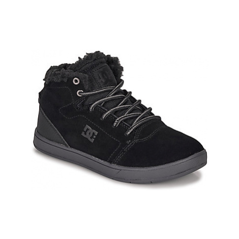 DC Shoes CRISIS HIGH WNT girls's Children's Shoes (High-top Trainers) in Black