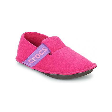 Crocs CLASSIC SLIPPER K girls's Children's Slippers in Pink