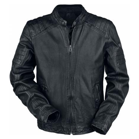 Gipsy Cave Slim Fit W18 Lanov Leather Jacket black