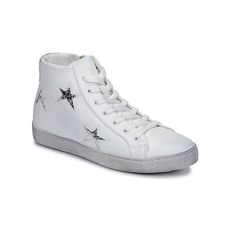 Chattawak BUFFALO women's Shoes (High-top Trainers) in White