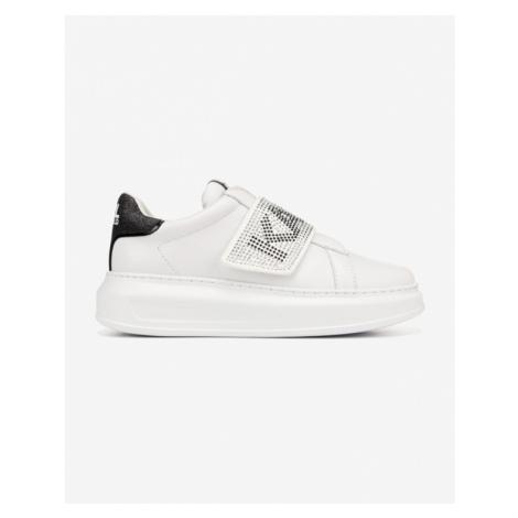 Karl Lagerfeld Glitz Logo Sneakers White